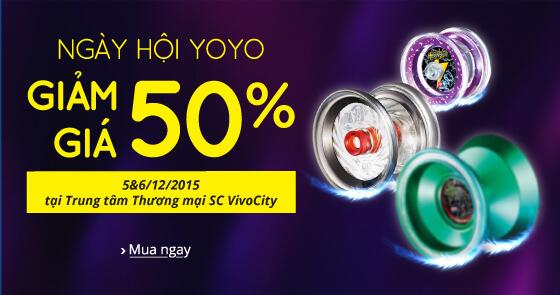Ngày hội yoyo giảm giá 50%
