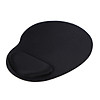 Mouse Pad Comfortable Mouse Mat with Wrist Rest Support for PC Laptop(Black)