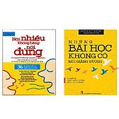 Biểu đồ lịch sử biến động giá bán Combo Sách Kỹ Năng Những Bài Học Không Có Nơi Giảng Đường - Chuẩn Bị Cho Cuộc Sống Hậu Tốt Nghiệp + Nói Nhiều Không Bằng Nói Đúng