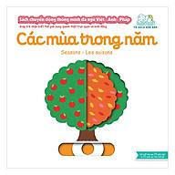 Sách Tương Tác - Sách Chuyển Động Thông Minh Đa Ngữ Việt - Anh - Pháp Các Mùa Trong Năm thumbnail