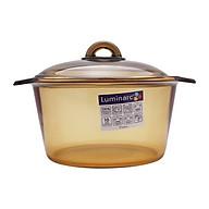 Nồi Thủy Tinh Luminarc Vitro Blooming Amberline H6891 3 Lít thumbnail