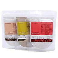 Combo 3 Gói Bột Đậu Đỏ, Cám Gạo Và Yến Mạch Thiên Nhiên Milaganics (100g gói) thumbnail