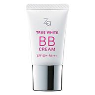 Kem BB Sáng Mịn Và Che Khuyết Điểm Tự Nhiên Za True White BB Cream Bright 40824 (20g) thumbnail