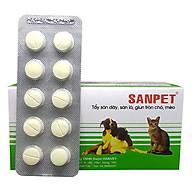 Tẩy Giun Chó Mèo Hanvet Sanpet (1 Vỉ 10 Viên) thumbnail