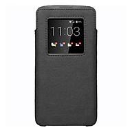 Bao Da Cầm Tay Thông Minh BlackBerry DTEK60 Smart Pocket - Đen - Hàng Chính Hãng thumbnail