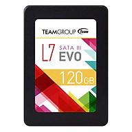 Ổ Cứng SSD Team L7 EVO Sata III (120GB) - Đen - Hàng Chính Hãng thumbnail