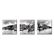 Tranh Đồng Hồ Treo Tường Bộ Hai Thế Giới Tranh Đẹp Q22-OM-365-DH thumbnail