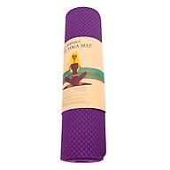 Thảm Tập Gym Và Yoga TPE 1 Lớp Zera 6MM1L (6mm) - Tím thumbnail