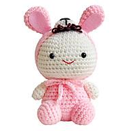Thú Bông Thỏ Ngọc Bobi Craft WT-023PIK-M thumbnail