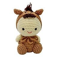 Thú Bông Ngựa Nâu Đất Bobi Craft WT-026BRW-M thumbnail