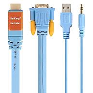 Cáp Chuyển Đổi VGA Sang HDMI Saikang 1.5m HDV02 SK-Z478 - Hàng nhập khẩu thumbnail