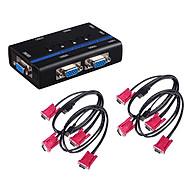 Switch 4 Cổng VGA KVM USB MT-ViKi MT-460KL - Hàng chính hãng thumbnail
