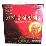 Thực Phẩm Chức Năng Nước Sâm Korean Red Ginseng Hàn Quốc (80ml x 30 Gói) thumbnail