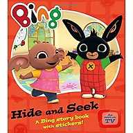 Hide And Seek A Bing story book with stickers (Bing Series Book) thumbnail