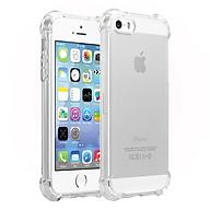 Ốp Lưng Dẻo Chống Sốc Phát Sáng Cho iPhone 5 5s 5SE (Trong Suốt) - HÀNG CHÍNH HÃNG thumbnail