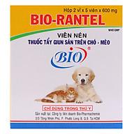 Sổ Giun Chó Mèo Bio (Hộp 10 Viên) thumbnail