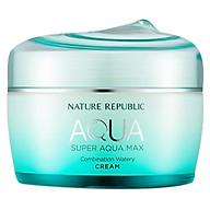 Kem Dưỡng Ẩm Nature Republic Super Aqua Max Combination Watery Cream (80ml) thumbnail