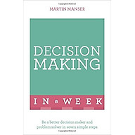 Decision Making In A Week - Paperback thumbnail