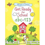 Usborne Get Ready for School abc and 123 thumbnail
