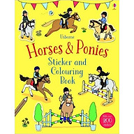 Sách tô màu Horses and Ponies Sticker And Colouring Book thumbnail
