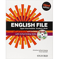 English File (3 Ed.) Upper-Inter Student Book With ITutor With Online Skills Practice Pack - Paperback thumbnail