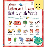 Usborne Listen and Learn First English Words thumbnail