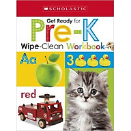 Wipe-Clean Workbooks Get Ready For Pre-K (Scholastic Early Learners) thumbnail
