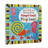 Usborne Baby s very first touchy-feely Fingertrail Play book thumbnail