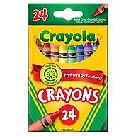 Bút Sáp 24 Màu Crayola 523024 thumbnail
