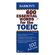 Hộp Flash Cards - 600 Essential Words For The TOEIC thumbnail