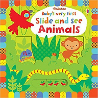 Usborne Baby s very first Slide and See Animals thumbnail