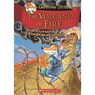Geronimo Stilton And The Kingdom Of Fantasy 5 The Volcano Of Fire (HC) - Hardcover thumbnail