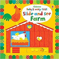 Usborne Baby s very first Slide and See Farm thumbnail