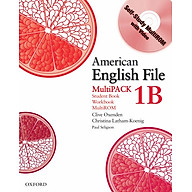 American English File Level 1 Student and Workbook Multipack B thumbnail