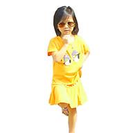 Bộ Đồ Bé Gái Họa Tiết Mắt Liếc CIRINO BD_BE_MLMV_004 - Vàng thumbnail