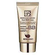 Kem Nền BB Cream Chiết Xuất Tự Nhiên Và Dịu Nhẹ Từ Dịch Ốc Sên Bergamo Magic Snail B.B Cream SPF50 Pa+++ - BERGAMO03 - 50ml thumbnail