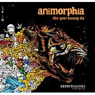 Animorphia - Thế Giới Hoang Dã (Sách Tô Màu Dành Cho Người Lớn) thumbnail