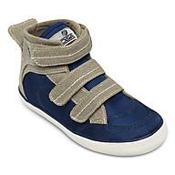 Giày Sneaker Cổ Cao Bé Trai D&A B1505 - Ghi Phối Xanh thumbnail