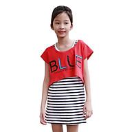 Set Đầm Và Áo Mullet Blue Bé Gái Cirino DB_BLUE_DO - Đỏ thumbnail