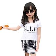Set Đầm Và Áo Mullet Blue Bé Gái Cirino DB_BLUE_TR Trắng thumbnail
