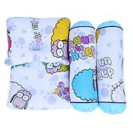 Bộ Gối Có Mền Cho Bé BabyTop In Hình Hoạt Hình Ngẫu Nhiên thumbnail
