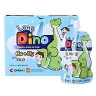 Nước Uống Dinh Dưỡng Vị Sữa Dành Cho Trẻ Em Long Dino (10 Gói x 120ml) thumbnail