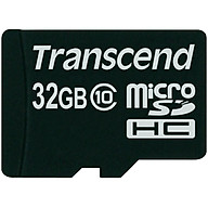 Thẻ Nhớ Micro SD Transcend 32GB Class 10 - Hàng Chính Hãng thumbnail