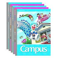 Lốc 5 Cuốn Tập 5 Ô Ly Campus A5 Doraemon Fly (96 Trang) - Mẫu Ngẫu Nhiên thumbnail