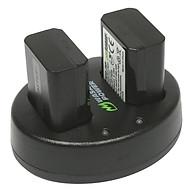 Combo 2 Pin 1300mAh + Sạc (A6000, A5000, 7R, A7R, 7S, A7S) WASABI Sony NP-FW50 - Hàng Chính Hãng thumbnail