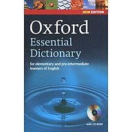 Oxford Essential Dictionary (With CD-ROM) thumbnail