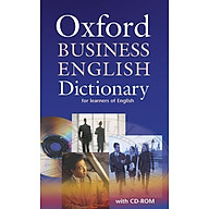 Oxford Business English Dictionary for learners of English Dictionary and CD-ROM Pack (Elt) thumbnail
