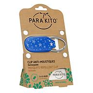 Viên Chống Muỗi PARA KITO Kèm Móc Cài Họa Tiết Ngôi Sao (Loại 2 Viên) - PARA KITO Mosquito Repellent Star Clip With 2 Tablets - PCLIP05 thumbnail