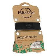 Viên Chống Muỗi PARA KITO Kèm Vòng Đeo Tay Bằng Vải Màu Đen (Loại 2 Viên) - PARA KITO Mosquito Repellent Black Band With 2 Tablets - PCWB01 thumbnail