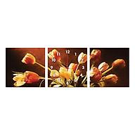 Tranh Đồng Hồ Treo Tường 3 Tấm Thế Giới Tranh Đẹp Q6D7-DH-01 thumbnail